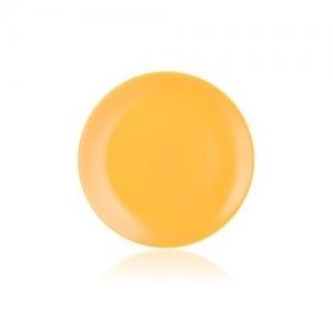 Banquet Talíř mělký žlutý mat 26,5 cm Amande