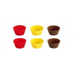 Košíčky silikonové DELÍCIA o 7 cm, 6 ks (630646)