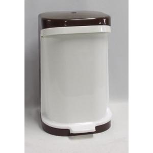 Odpadkový koš dvojdílný šlapací 15 l